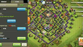 220 level 5 goblins Vs 8th town hall / funny attack