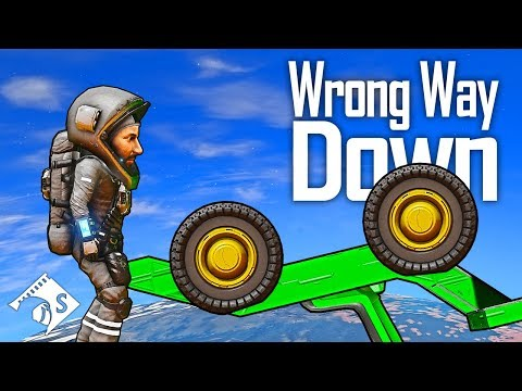 Wrong Way Down - Part 2 (Space Engineers Survival)
