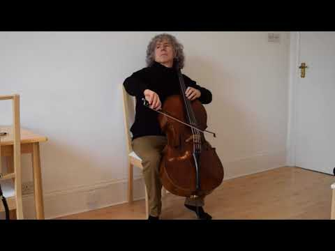 Steven Isserlis - Bach Cello Suite 6 in D Major - Sarabande