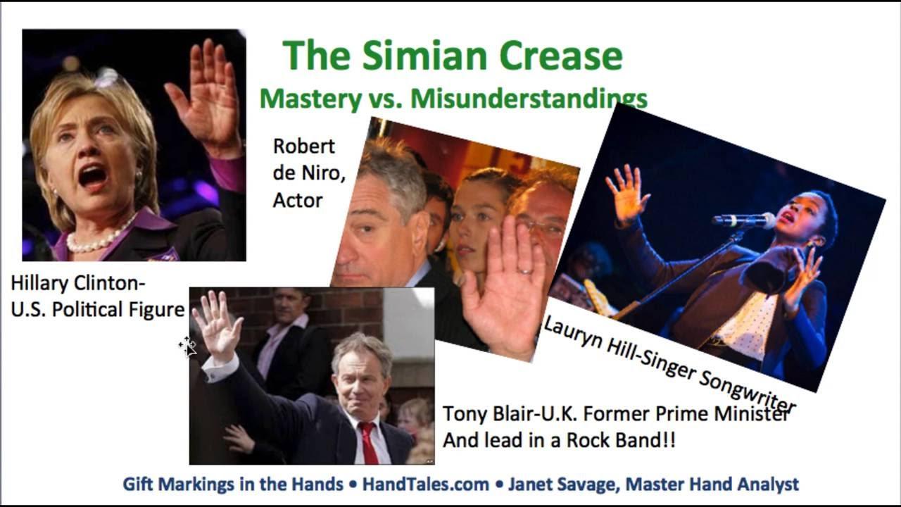 Simian line palmistry tony blair tony bliar - Simian Line Palmistry Tony Blair Tony Bliar 1