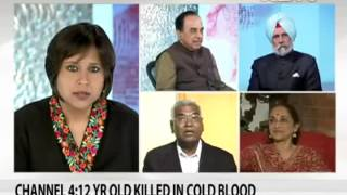 LTTE : Dr Subramanian Swamy in NDTV debate (Must Watch)