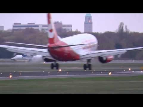 Tegel Airport Berlin - Heavy traffic