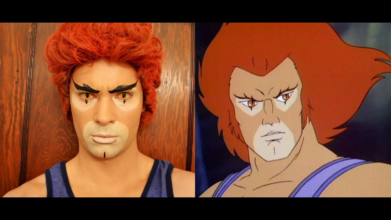 thundercats liono makeup tutorial youtube