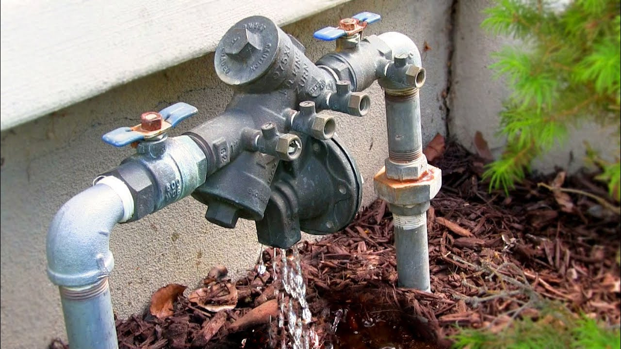 Sprinkler System Backflow Preventer Diagram Clever Venn How To Fix A Leaking Repair Zurn