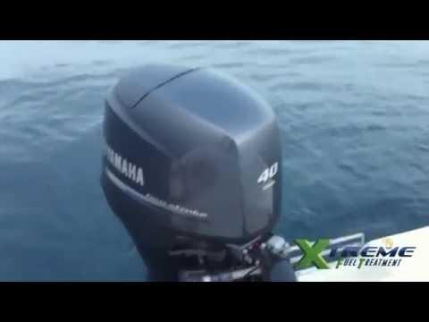 Prueba de XFT En Motor De Lancha Costa Rica - Ahorra Combustible