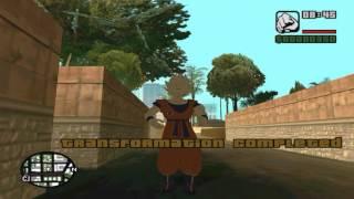 Grand Theft Auto San Andreas   DragonBall Mod   PC + Download