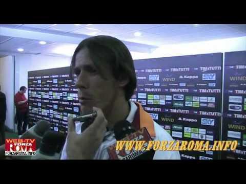 Rodrigo Taddei al termine di Roma-Cagliari 2-1- del 09/05/2010