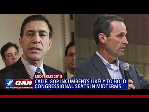 Calif. GOP Incumbents Likely to Hold Congressional Seats in Midterms