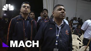 Watch India's Space Agency React After Losing Contact With Craft | Mach | NBC News