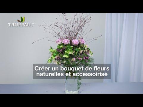 Art floral : comment faire un bouquet de fleurs naturelles - Jardinerie Truffaut TV