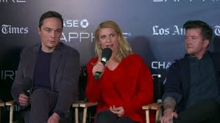 """Sundance 2018: Claire Danes and Daniel Pearle talk about """"A Kid Like Jake""""