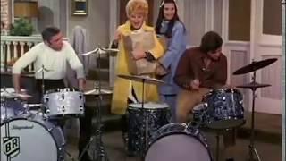Buddy Rich 'Here's Lucy' Drum Battle Clip 1970