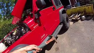 Diagnosing and Replacing Starter Motor & Solenoid | Jeep Wrangler TJ