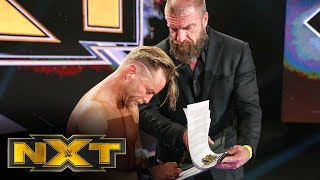Triple H extends an NXT contract to Drake Maverick: WWE NXT, June 3, 2020