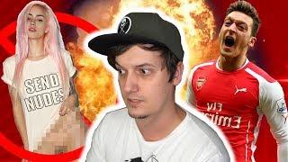 Hört bitte auf YouTubern eure Nackfotos zu schicken... & warum Özil gerade nervt...