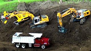 RC Construction Site Excavator Dumper Baustelle Bagger ♦ Modellbau Friedrichshafen