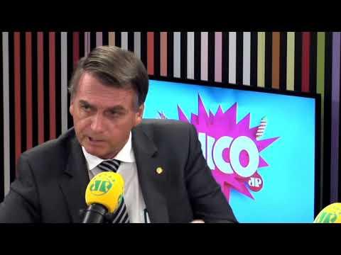 """Jair Bolsonaro: """"Eu sou o deputado que menos dá despesa""""    Pânico"""