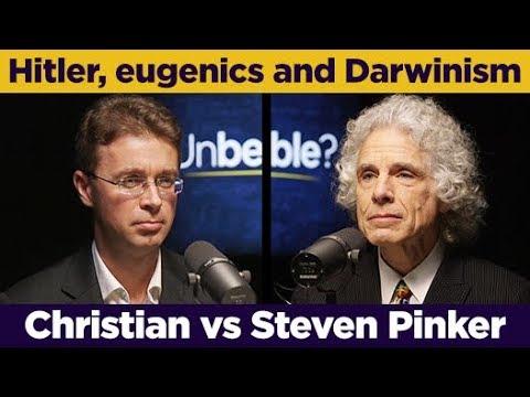 Steven Pinker debates Nick Spencer on Hitler, eugenics and Darwinism