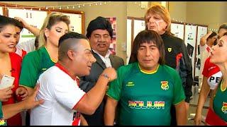 Mar Fantony y Carlos Yuquives vs. don Edwin, el 'Tigre' y Paolo por el Estadio Nacional