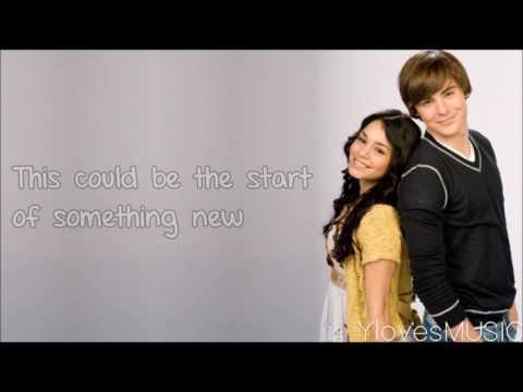 High School Musical - Start Of Something New (Lyrics)