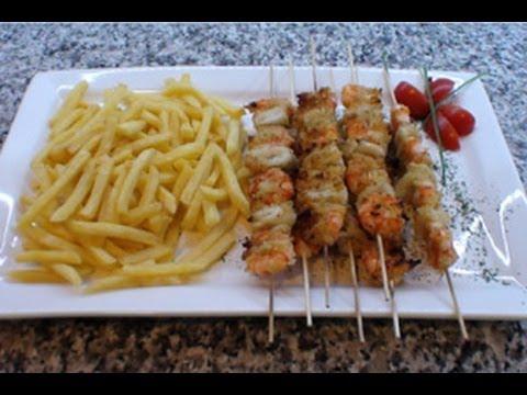 5 idee per spiedini di pesce al forno, in padella o alla ...