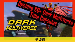 DCUO Opening 60+ Dark Multiverse Time Capsules