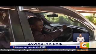 Rais amtunukia Mbunge Paul Mwirigi gari mpya