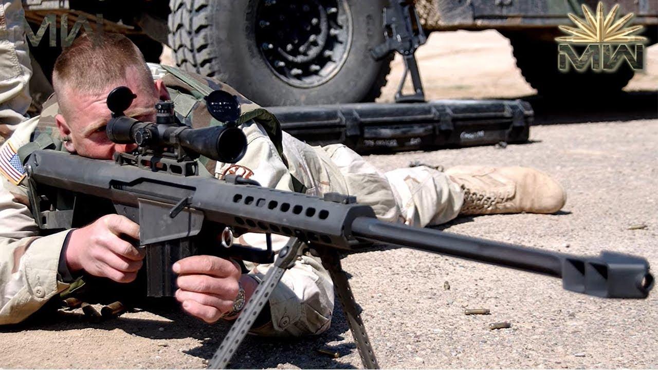 WALL DESTROYER Sniper Rifle !!! ⚔️ US .50 CAL Barrett M82