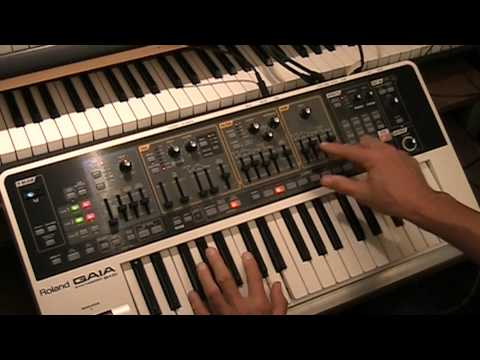 Roland Gaia Tutorial 1 - A BIG Synth Orchestra - Subtractive Synthesis