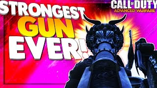 COD AW LEGENDARY BlunderBuss Dragon Fire GAMEPLAY | Strongest Gun EVER! | COD AW Legendary Guns DLC