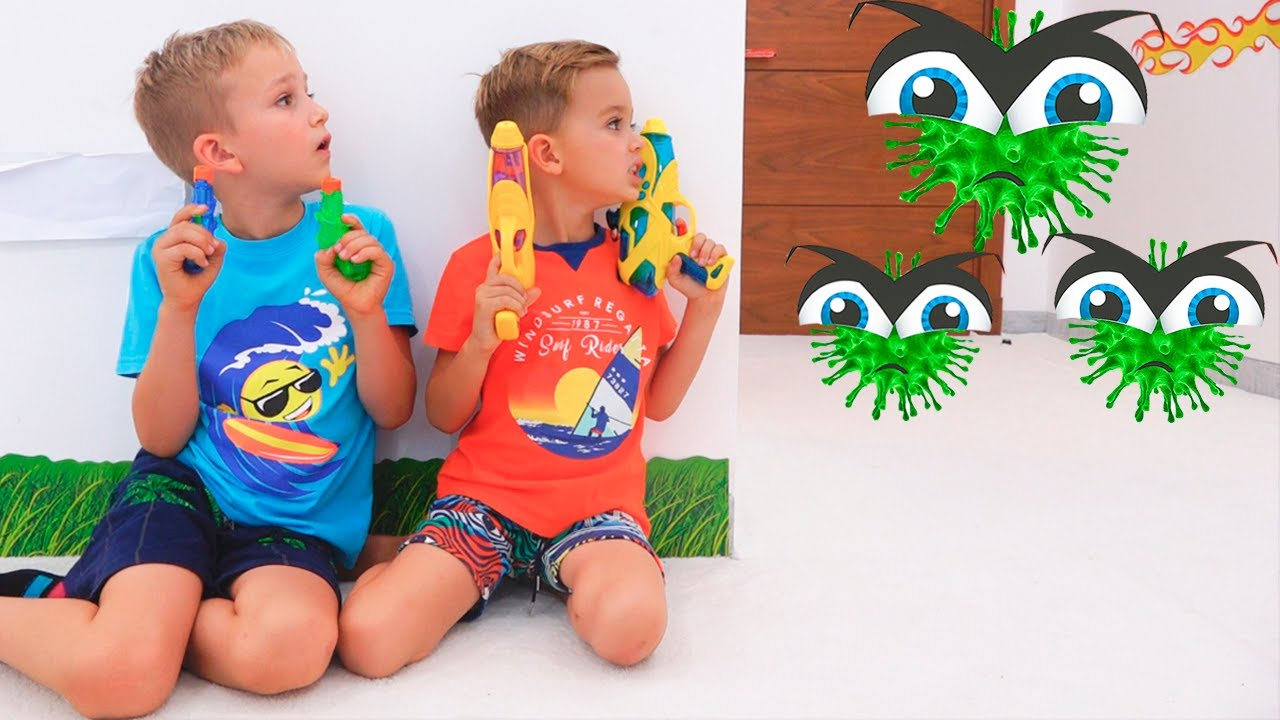 Download Vlad and Niki Children story about Viruses