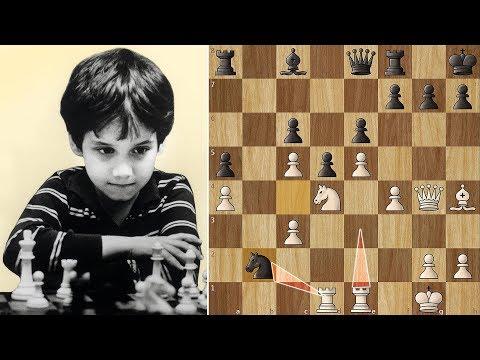 The Immortal Rook Lift by 11-year old Josh Waitzkin