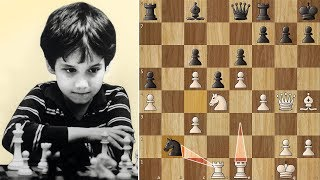 The Immortal Rook Lift by 11-year old Josh Waitzkin