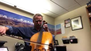Michael Fischer Strad cello