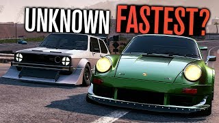 Unknown FASTEST Car in Need for Speed Payback?