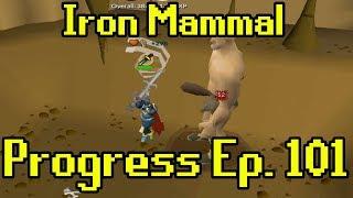 Oldschool Runescape - 2007 Iron Man Progress Ep. 101   Iron Mammal
