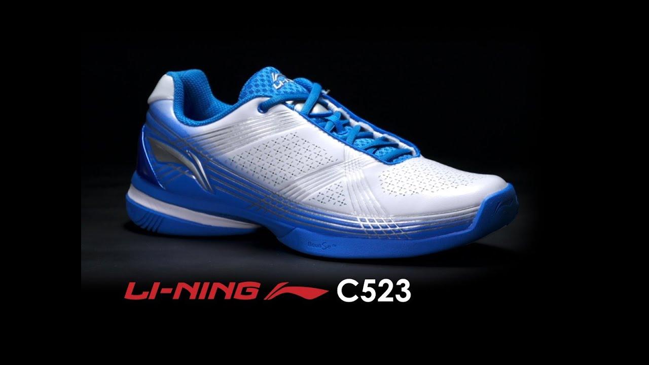 Li-Ning C523 Shoe Review - YouTube