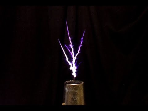 Vacuum Tube Tesla Coil 833A - YouTube