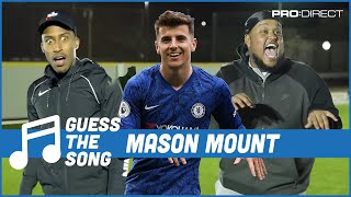 Mason Mount does Chunkz Frankenstein Celebration | Pro:Direct Guess The Song Challenge