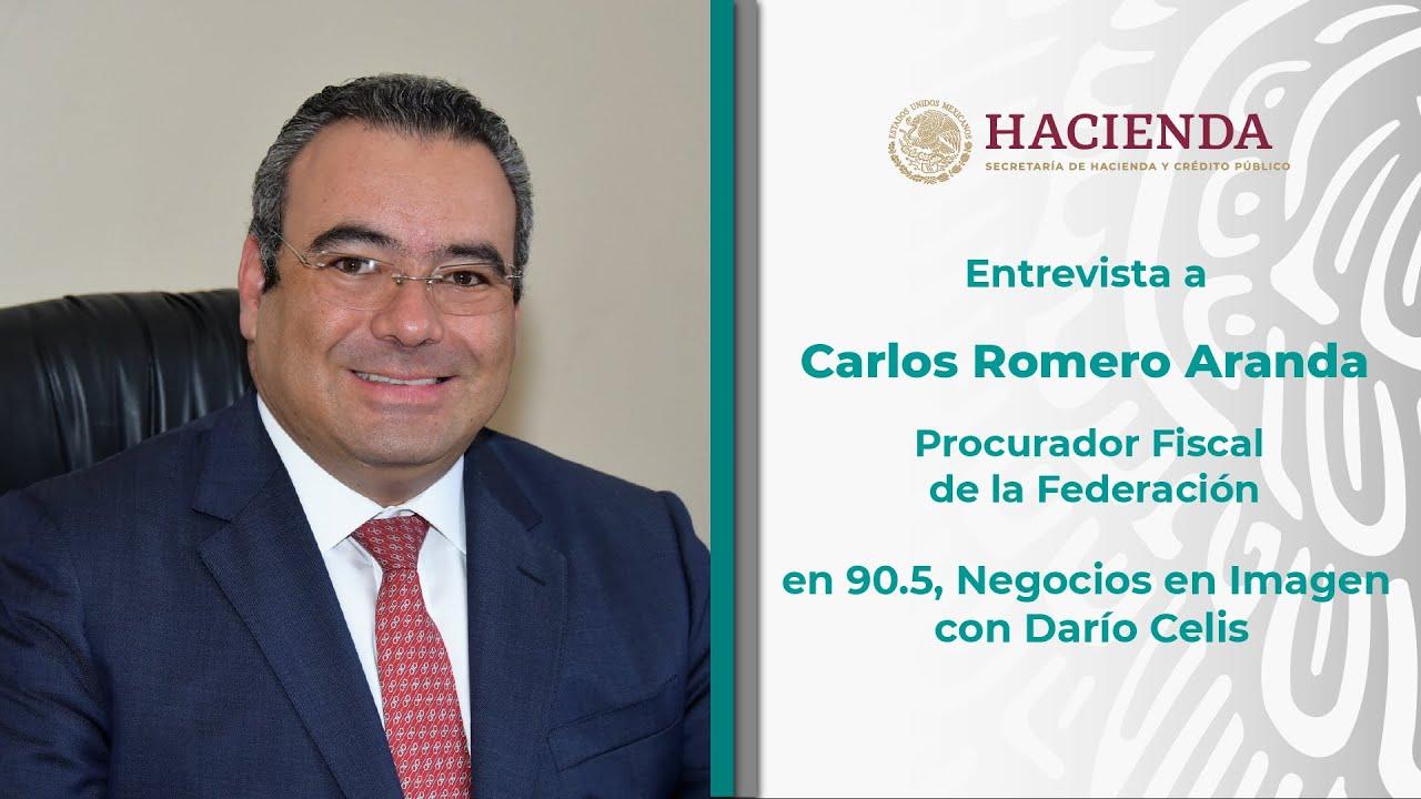 Entrevista a Carlos Romero, Procurador Fiscal de la Federación, con Darío Celis.