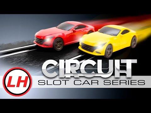 LiteHawk CIRCUIT   High Speed Slot Car Action!