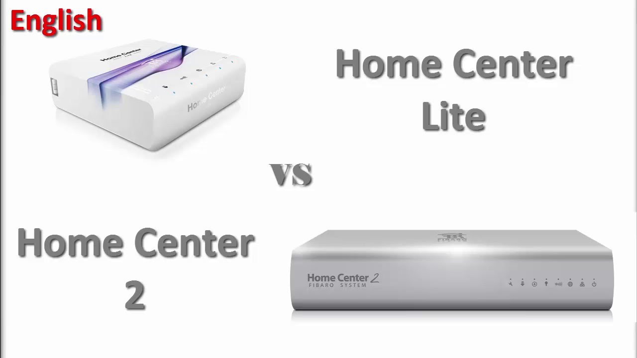 fibaro home center 2 vs home center lite en youtube. Black Bedroom Furniture Sets. Home Design Ideas