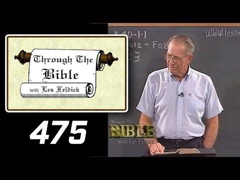 [ 475 ] Les Feldick [ Book 40 - Lesson 2 - Part 3 ] Philippians 3:17-4:23 |a