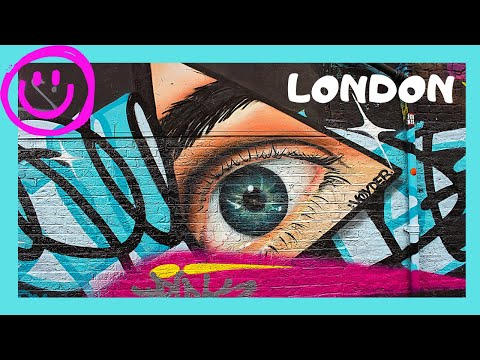London Bright And Colorful Street Art Murals In Brick Lane