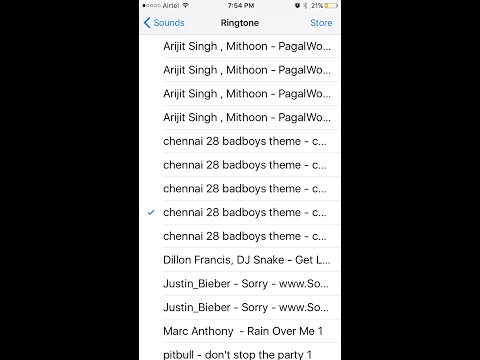 (Tamil) How To Set RIingtone On Iphone Without Using Pc Or Itunes (Apple Pro Tamil))