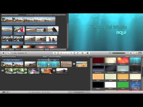 how to add audio to imovie trailer