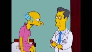 Mr. Burns Geht für einen Check-Up