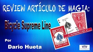 Vídeo: Bicycle Supreme Line (Baraja)