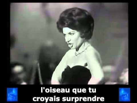 Maria Callas   Habanera   Carmen   Bizet   french subtitles