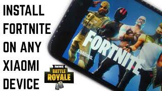 Baixe e instale o Fortnite no Redmi note 5 pro/Redmi Note 4